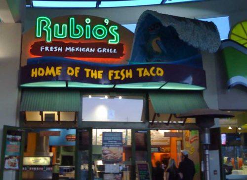 Grillade côtière Rubios