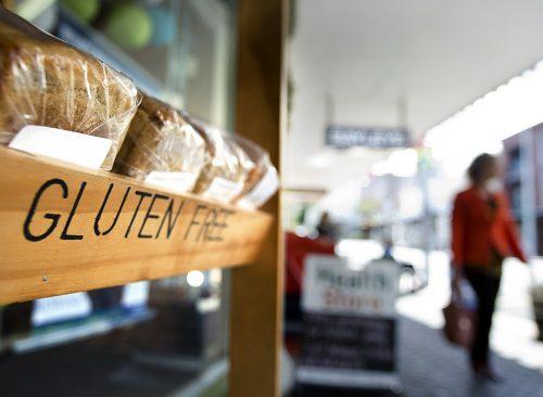 Plateau de pain sans gluten