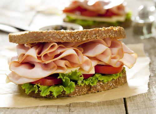 sandwichs au jambon