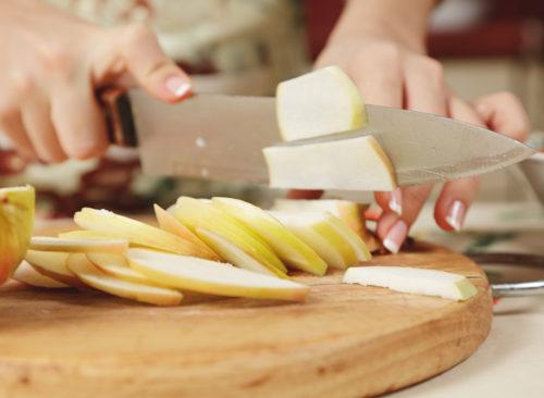 tranches de pommes