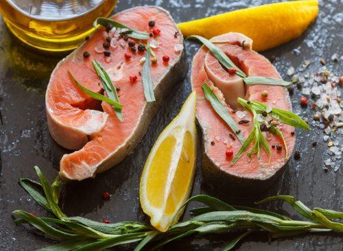 Saumon à l'estragon
