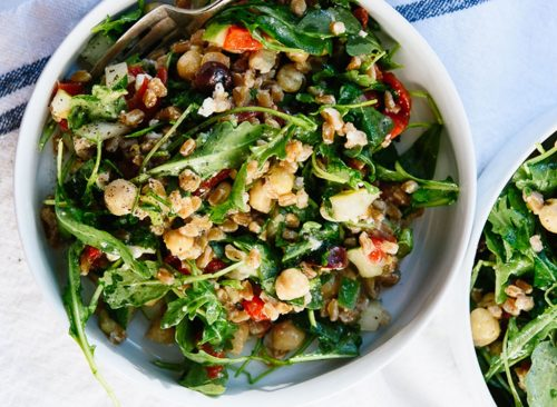 Salade grecque au farro