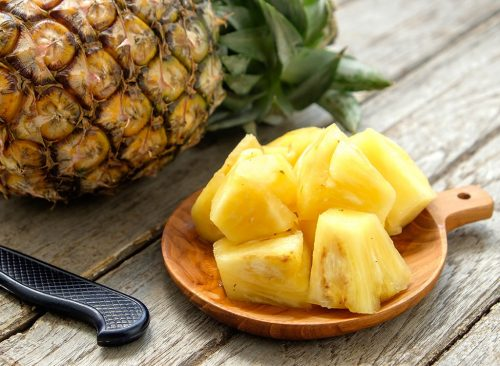 Morceaux d'ananas