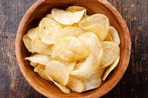 chips  pires aliments pour perdre du poids