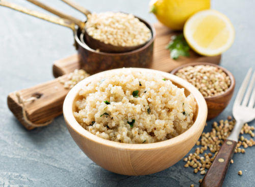 Tilberedt Quinoa