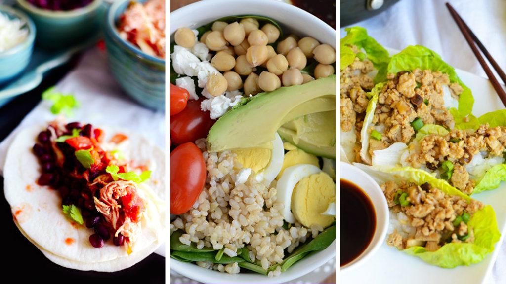 15 repas faciles à préparer avec moins de 400 calories