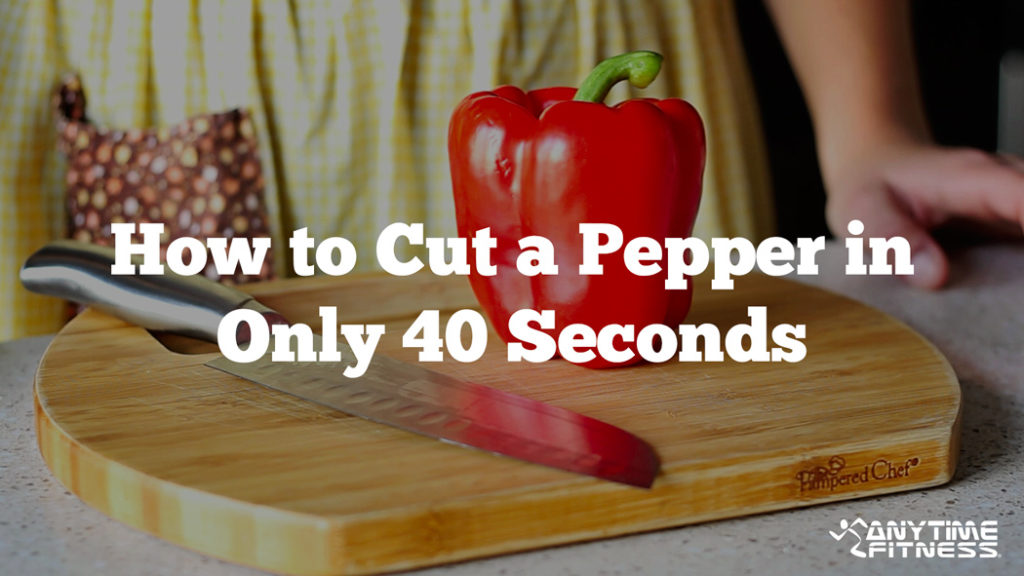 Comment couper un poivron pendant 40 secondes