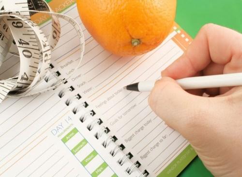 Food Journal - comment vaincre le plateau de la perte de poids