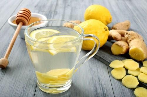 l'eau de citron