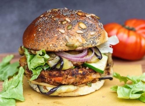 Le hamburger végétarien