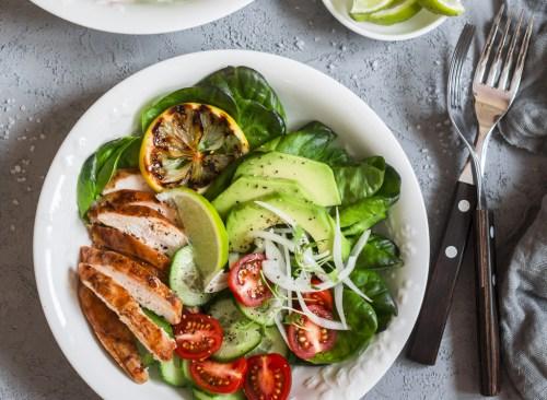 Demi assiette de légumes