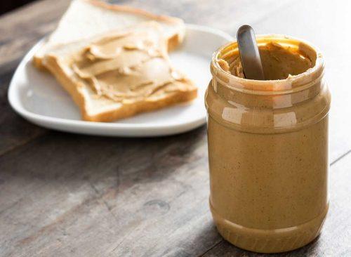 Beurre d'arachide en pot