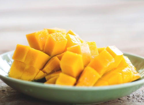 Bouchées de mangue