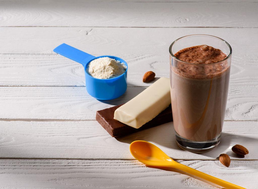 shakes protéinés