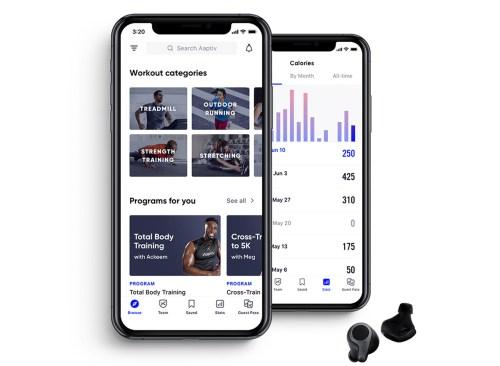 app adaptative sur iphone