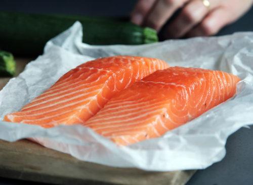 Filet de saumon sauvage