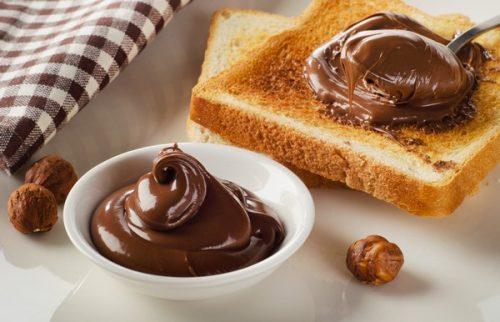 Noisettes chocolat propagation
