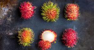 17 fruits uniques et nutritifs ... Ramboutan