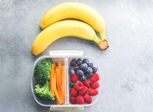 Collation de préparation de repas