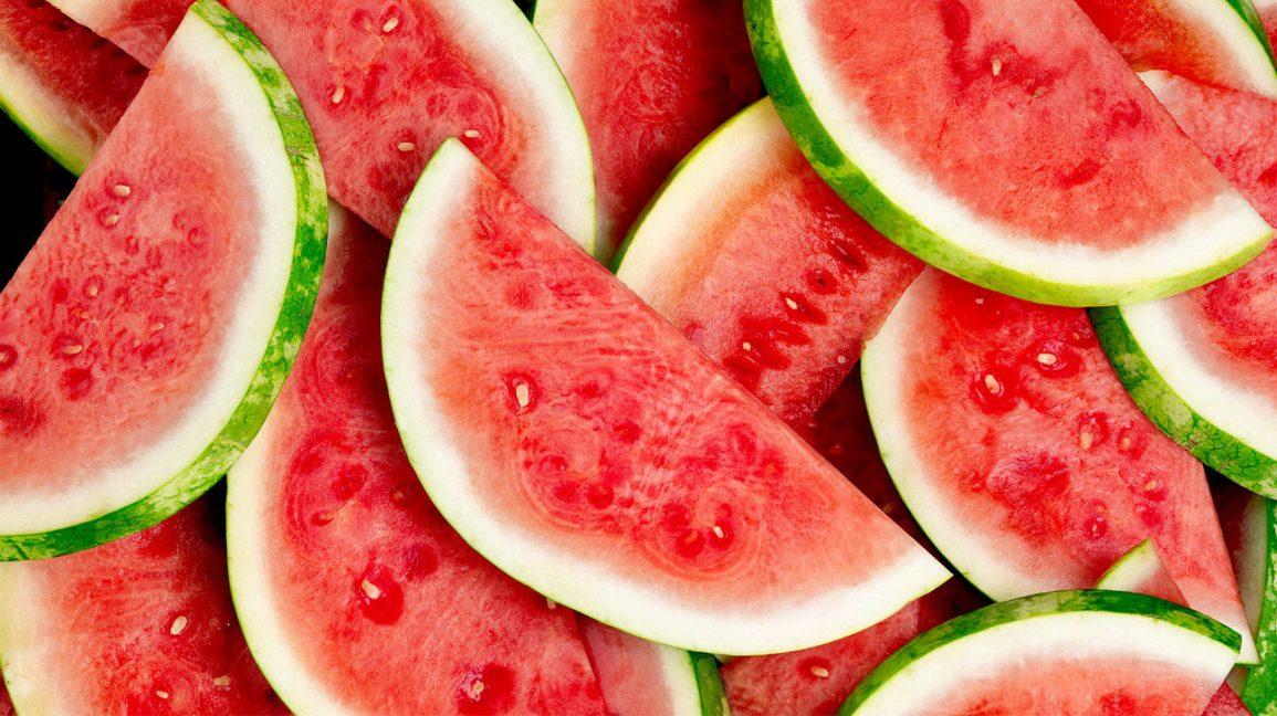 Tranches de melon d'eau