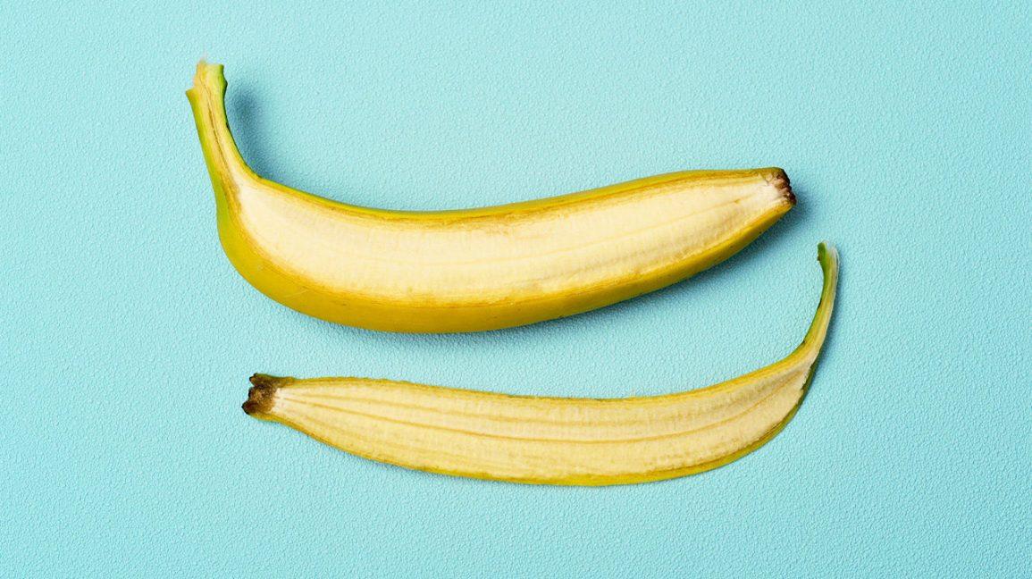 Une banane sans pelure