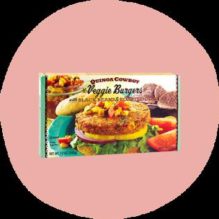 Burger Veggie Burger au Quinoa Cowboy de Trader Joe