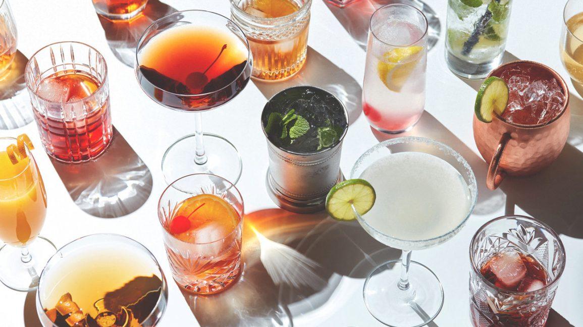 L'alcool est-il végétalien variété de cocktails