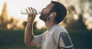 L'eau caféinée