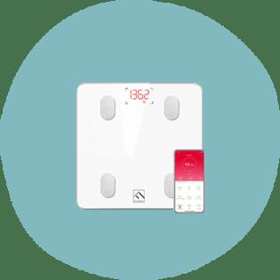 Échelle de graisse corporelle Bluetooth FITINDEX