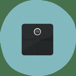 Balance intelligente Wi-Fi Fitbit Aria 2