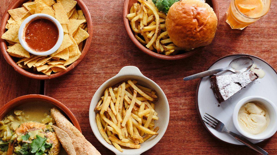 Divers aliments vides