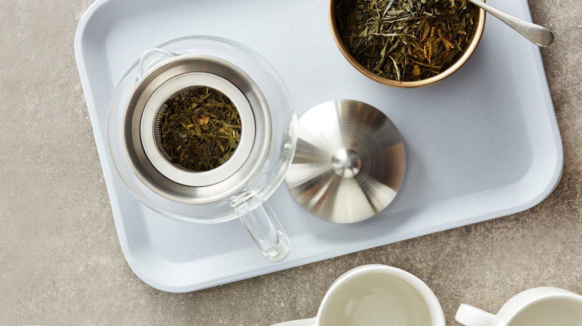 Comment infuser le thé Théière avec infusion