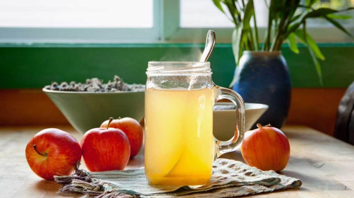 Vinaigre de cidre de pomme et miel