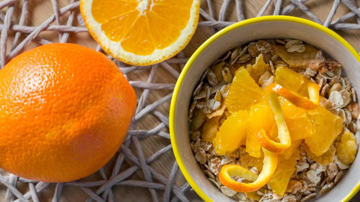 Pouvez-vous manger des écorces d'orange