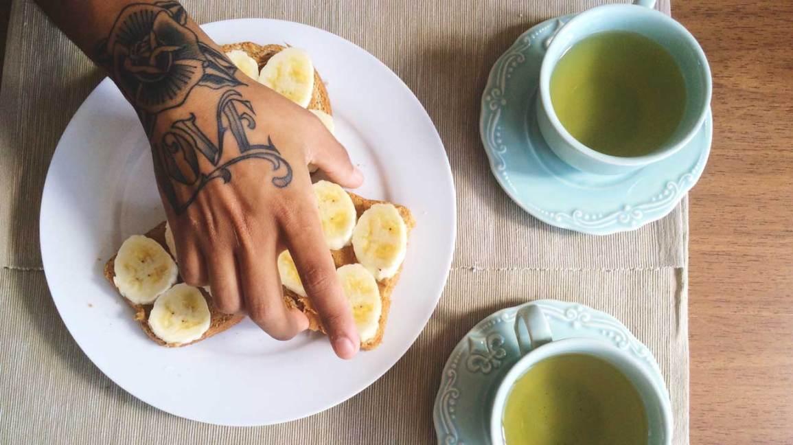 Thé à la banane