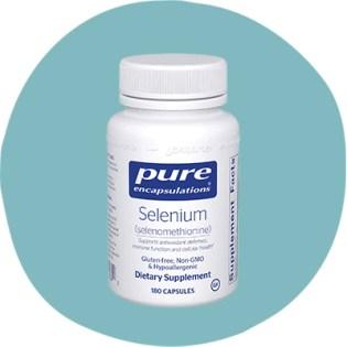 Encapsulations pures sélénométhionine
