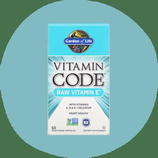 Garden of Life Vitamin Code Raw Vitamine E