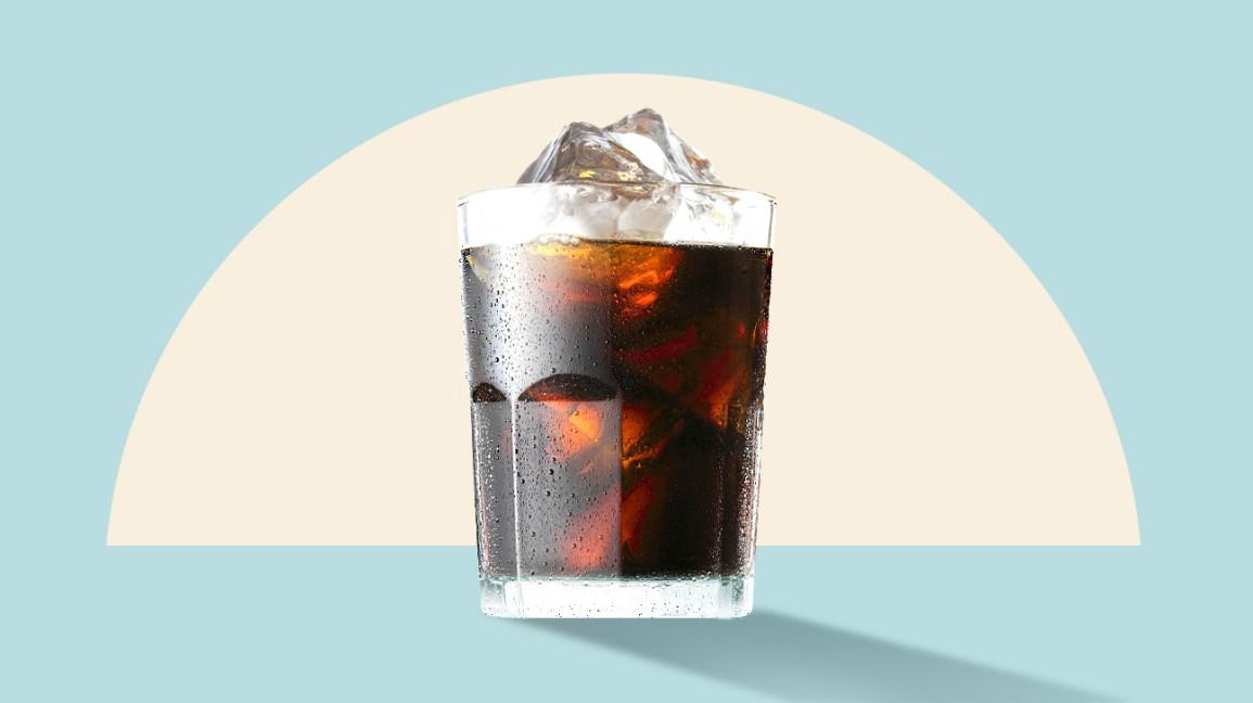 Illustration de café infusé à froid