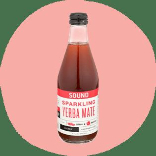 Sound Sparkling Yerba Mate biologique aux agrumes et hibiscus