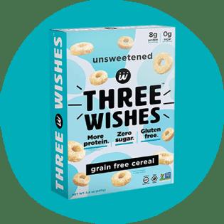 Céréales sans grains non sucrées Three Wishes