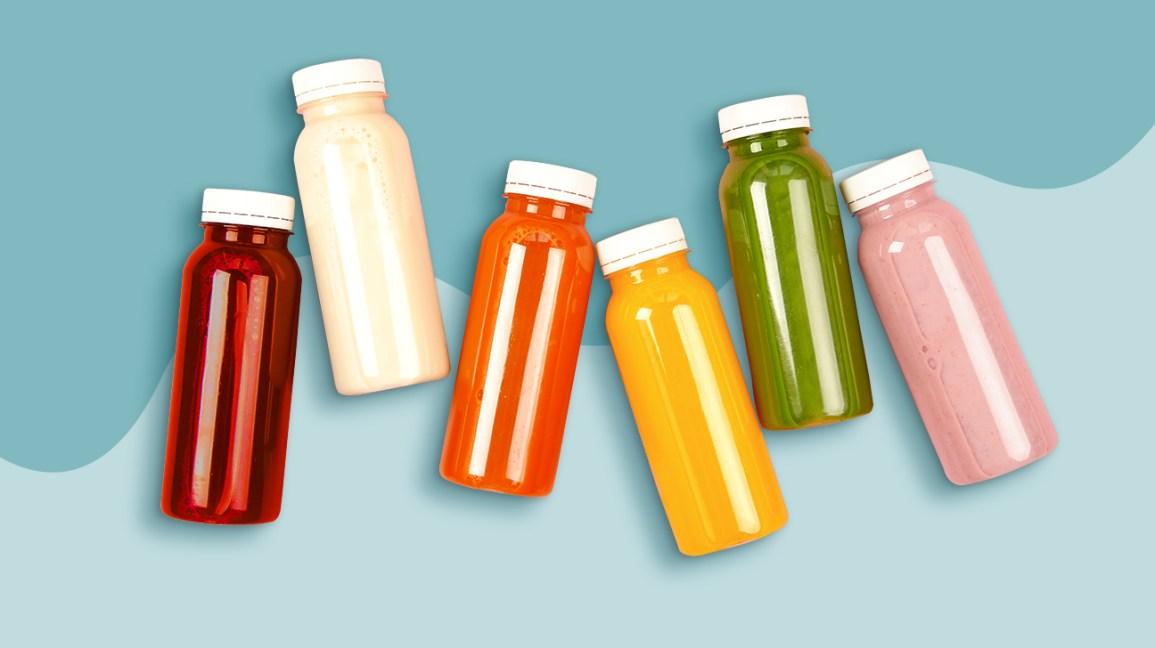 Illustration de boissons antioxydantes