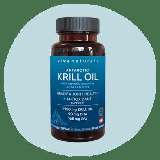 Huile de krill antarctique Viva Naturals