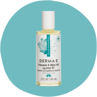 Huile pour la peau DERMA-E à la vitamine E 14000 UI