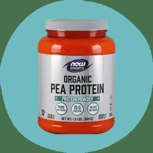 Protéine de pois bio NOW Sports