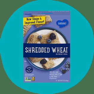 Céréales de blé déchiquetées de Barbara