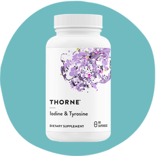 Thorne Iodine avec Tyrosine