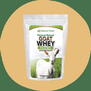 Z Natural Foods Lactosérum de chèvre élevé au pâturage