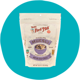 Bob's Red Mill Muesli sans gluten