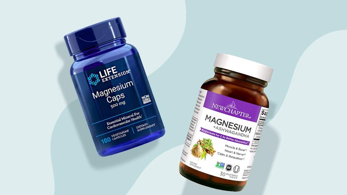 Illustration de supplément de magnésium