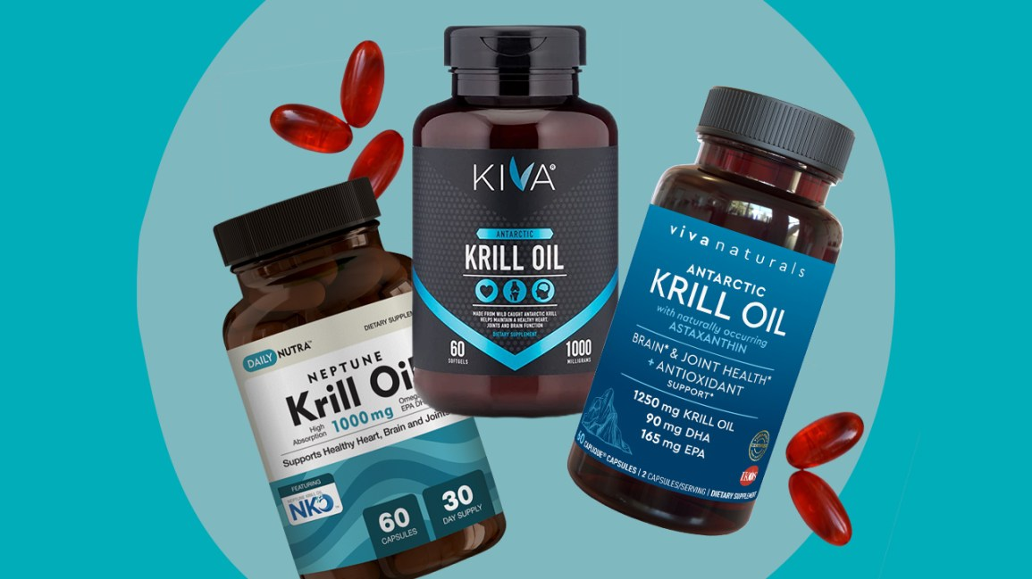 Illustration de l'huile de krill